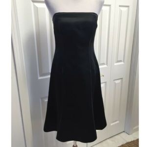 Ann Taylor sleeveless satin cocktail dress sz8